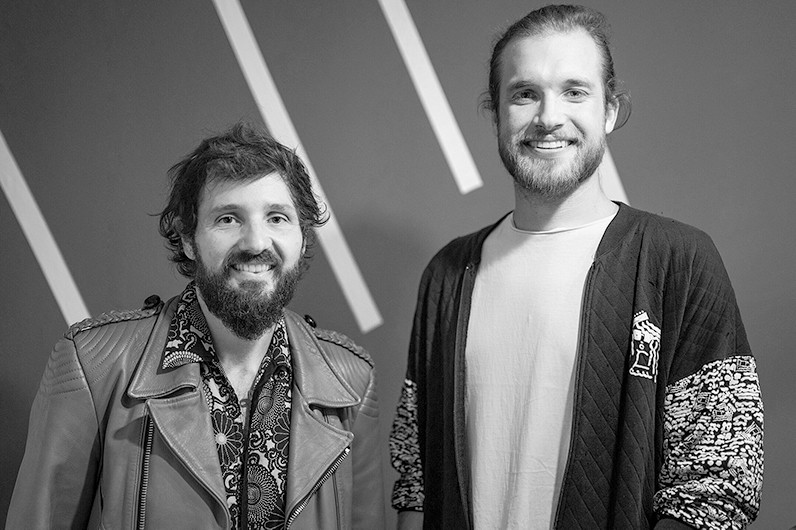 Stefan Wandel und Thomas Woschitz from OSTAR Music Network (f.l.) © MFG Moritz Jäger